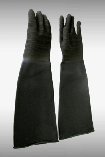 strahler handschuhe 60cm latex angerauhte hand. Black Bedroom Furniture Sets. Home Design Ideas